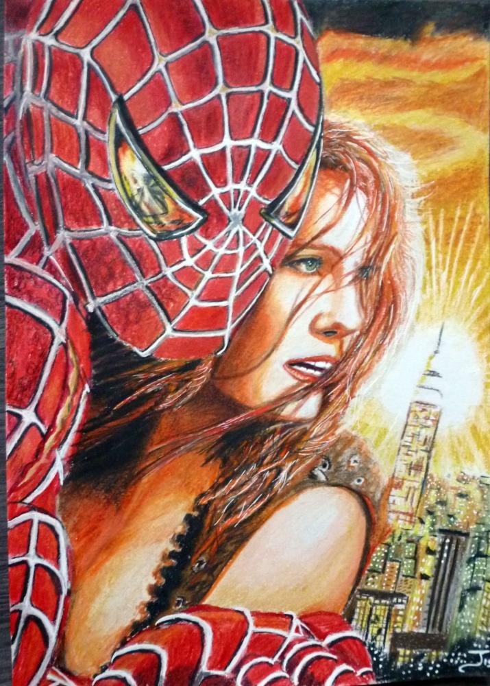 Spider-Man, Kirsten Dunst por jejelink
